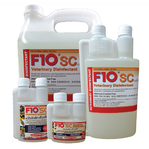 F10SC Veterinary Disinfectant